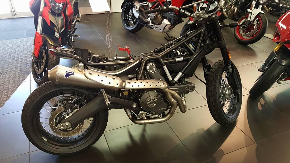Connu Custom Scrambler Build by Ducati of Tampa Bay | Ducati Scrambler Forum WU36