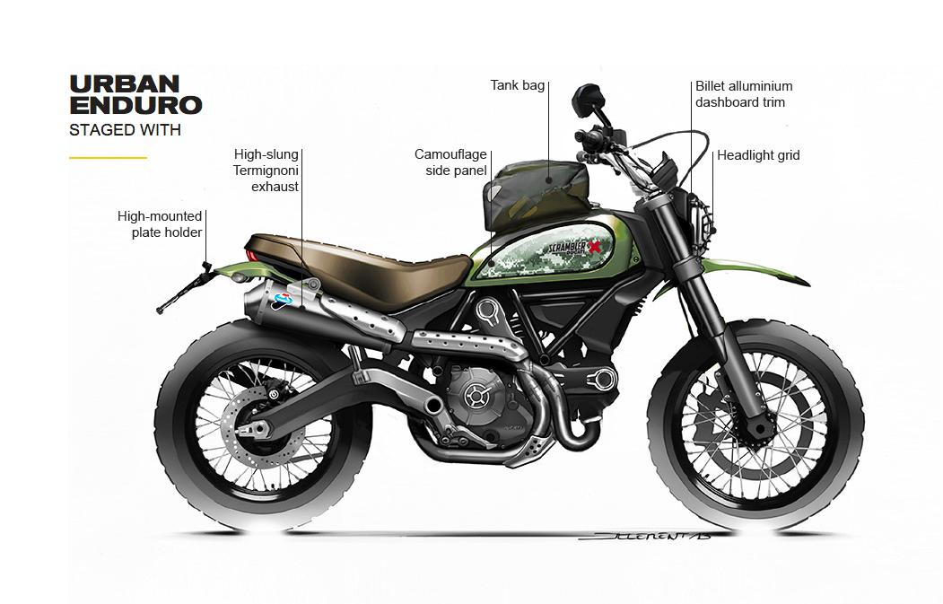 Bien-aimé Custom Ducati Urban Enduro Thread | Ducati Scrambler Forum NG33