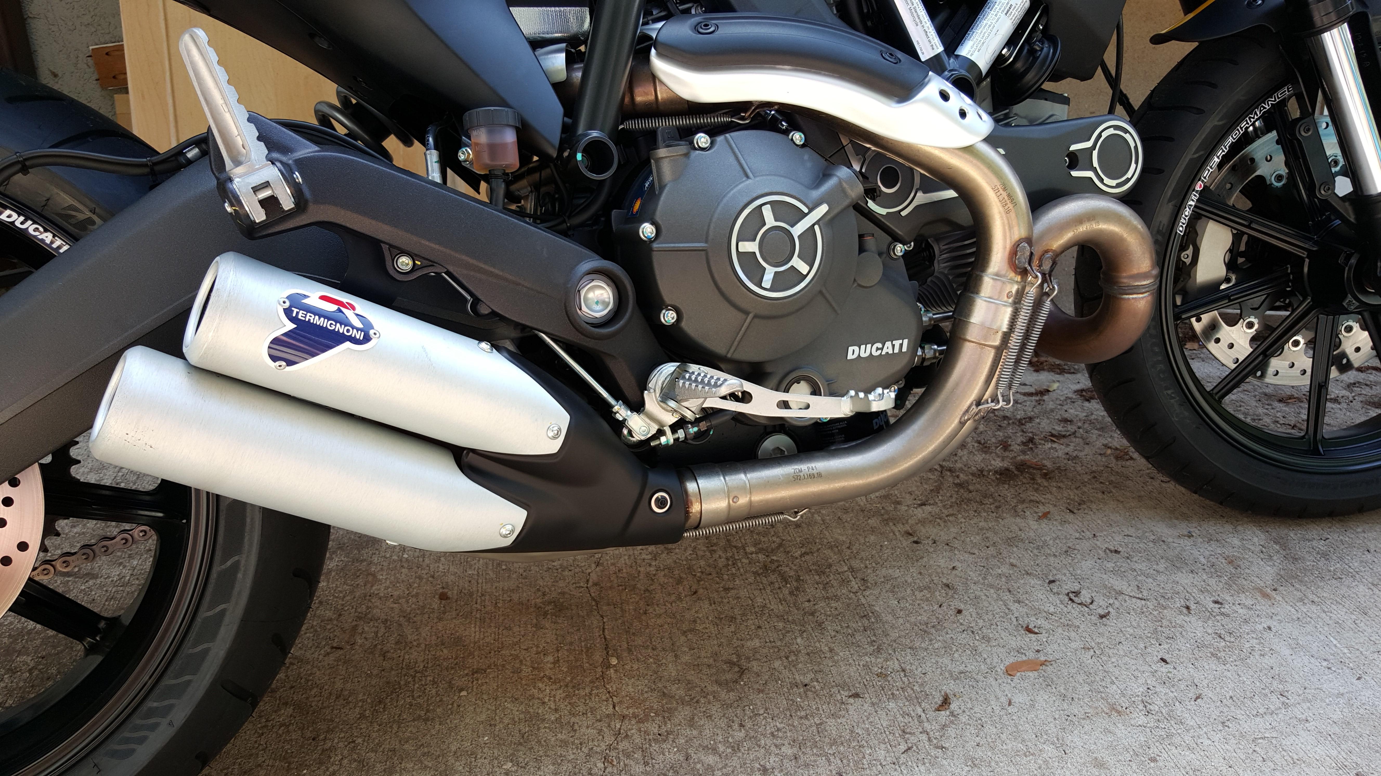 Full Throttle Factory Termignoni Exhaust For Sale 450 Ducati
