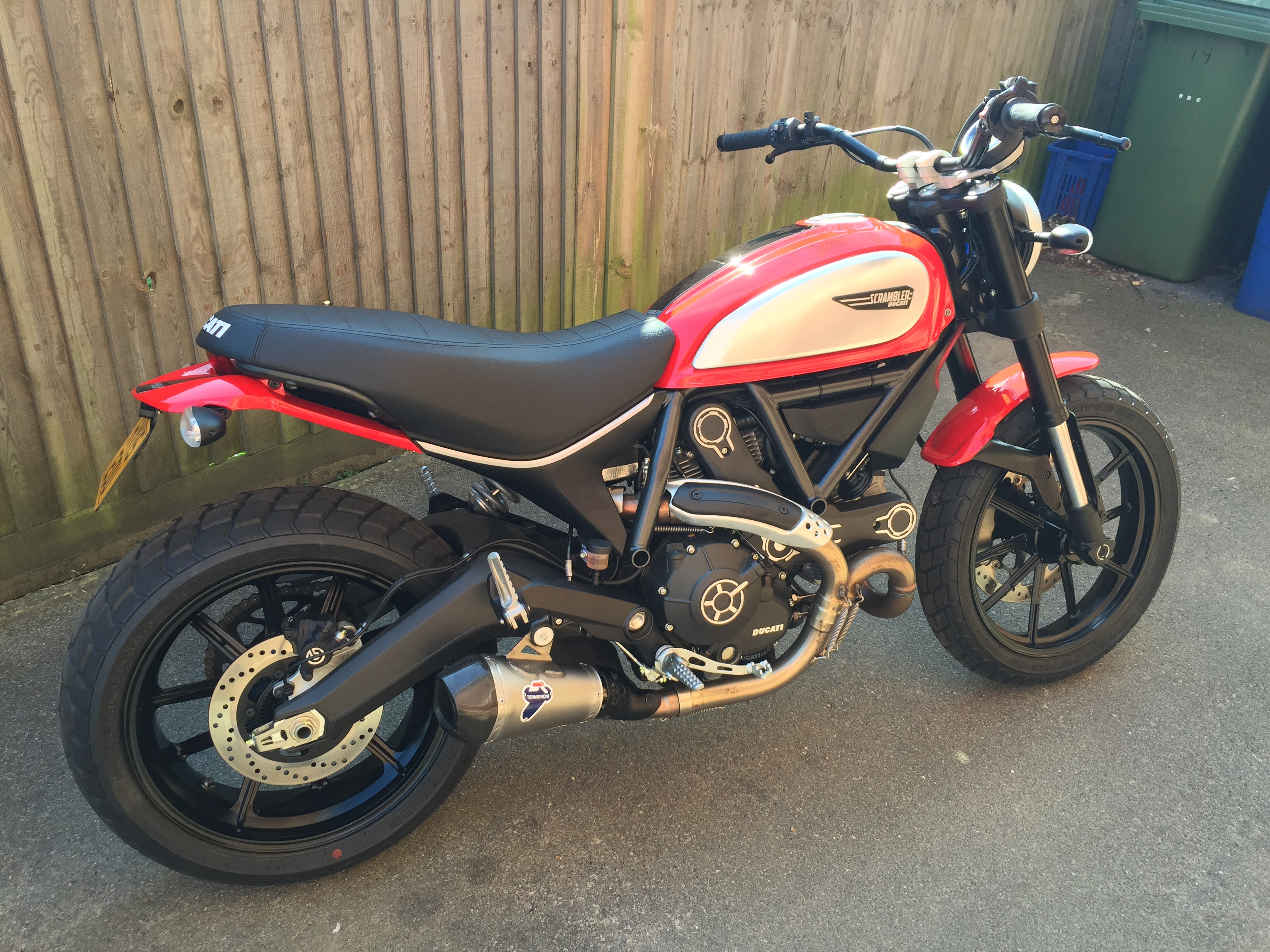 Icon In Red With Termi For Sale Ducati Scrambler Forum