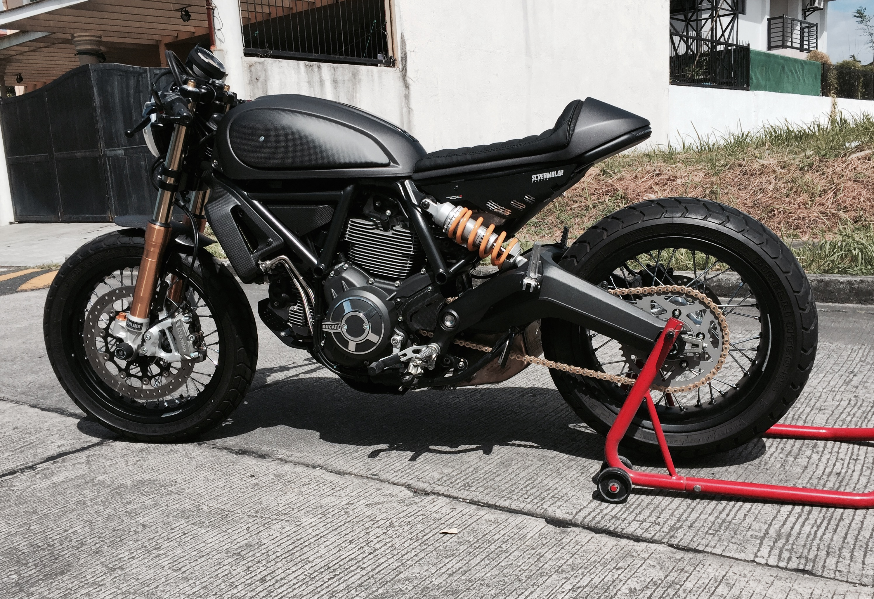 cafe racer scrambler ducati scrambler forum. Black Bedroom Furniture Sets. Home Design Ideas