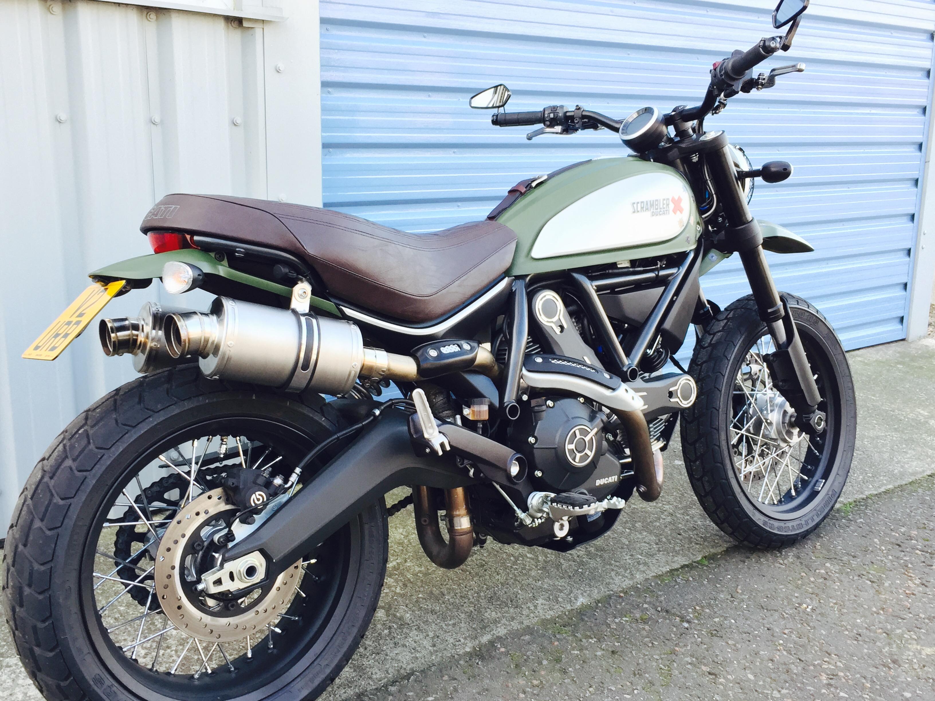 Can We Fit A Scrambler 1100 Rear Dual Exhaust On Desertsled Ducati Scrambler Forum