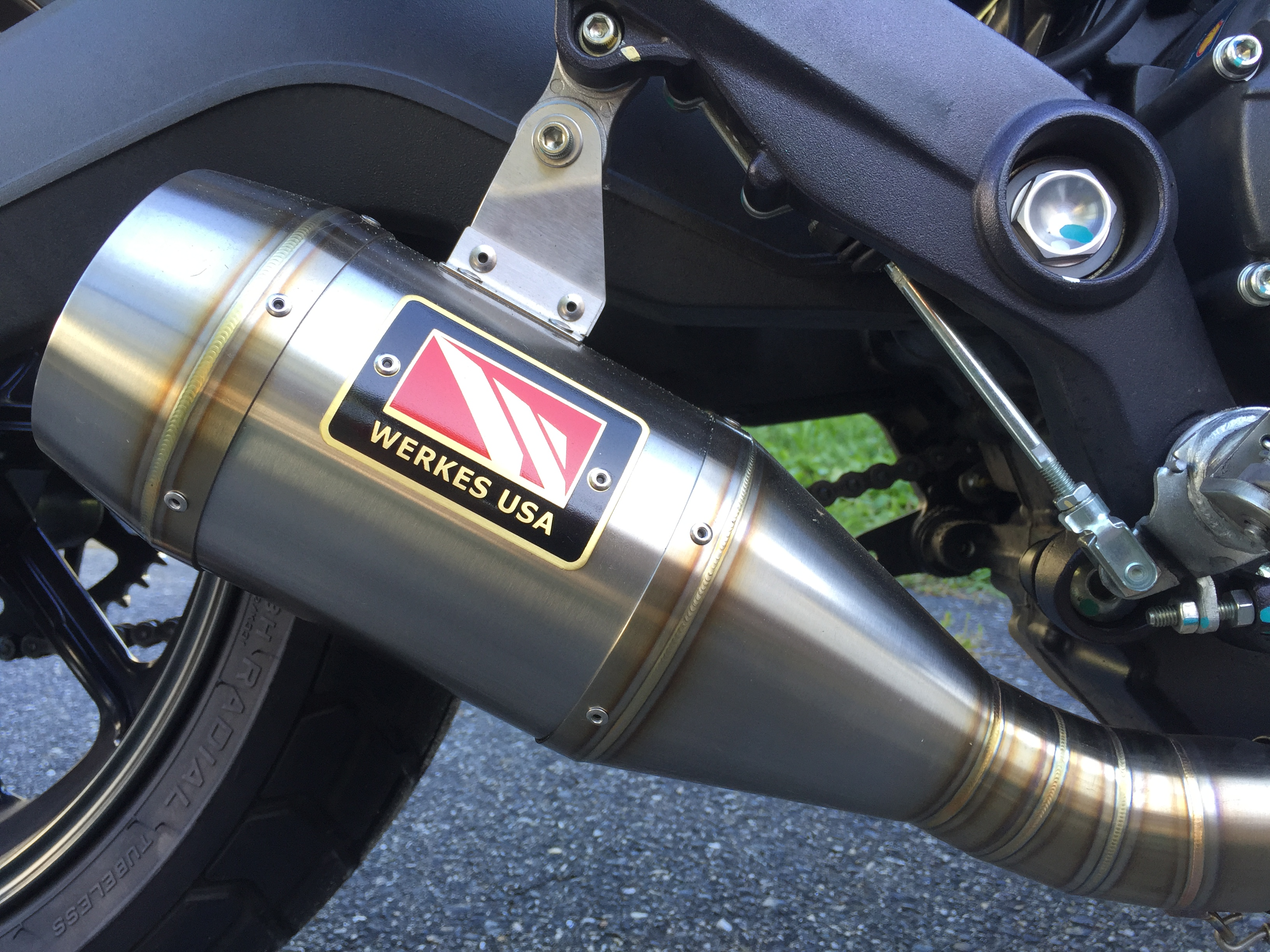 Competition Werkes Exhaust Ducati