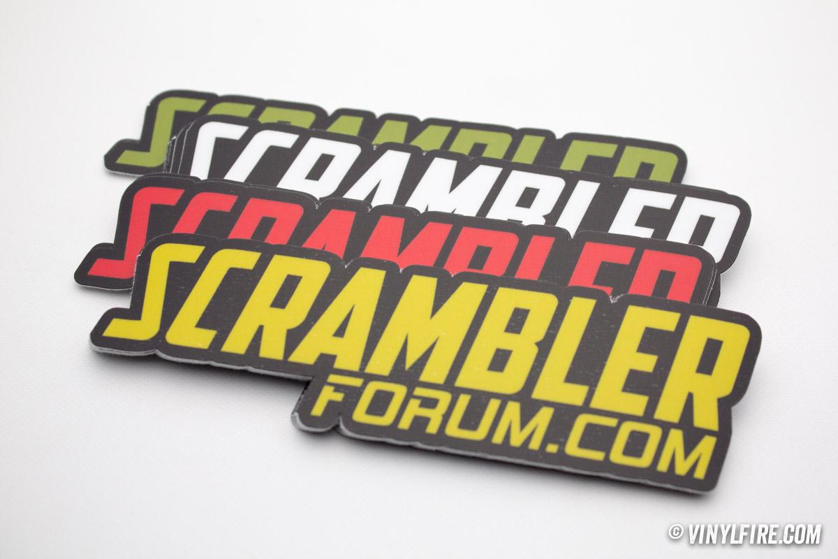 Stickers Stickers Stickers Everywhere Ducati Scrambler Forum